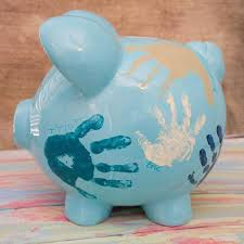 monogrammed piggy banks diy personalized piggy bank gift tip junkie