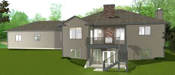home designs walkout ranch house plans with brilliant one story