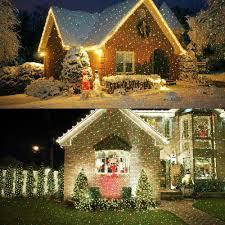 outdoor elf light laser projector christmas night stars celebration series outdoor pattern
