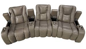 Palliser Chairs Palliser Media Palliser Media 3 Piece Leather Power Sectional With