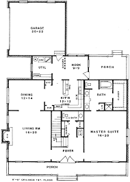 country home for corner lot 3426vl architectural designs