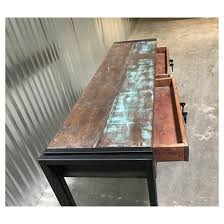 Reclaimed Wood Console Table Old Reclaimed Wood 60