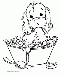 Free Printable Puppy Coloring Pages Coolest Coloring Free Puppy Color Pages