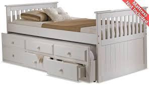 Amani Furniture Amani Capbed Ubed White Beds