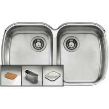 Oliveri MOU Monet Double Bowl Undermount Sink At The Good Guys - Oliveri undermount kitchen sinks