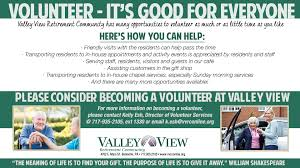 valley view retirement community enhancing senior lifestyles
