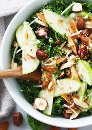 kale salad for thanksgiving whole30 kale salad with apple almond hazelnut u0026 apple cider