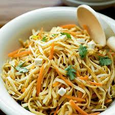noodle salad recipes asian noodle salad with peanut dressing recipe leite s culinaria