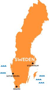 map of sweden map of sweden railpass