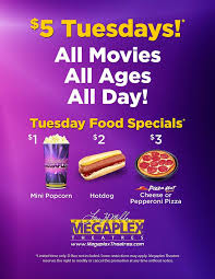 larry h miller megaplex 5 tuesdays theater food deals