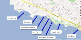 california map laguna laguna california festivals coves hotels