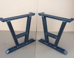 Modern Metal Furniture Legs by Steel Table Legs Etsy