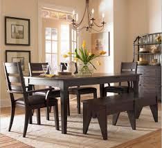debonair room decoration using square cherry wood tall table