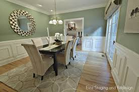 Wainscoting Dining Room Shaker Wainscoting Dining Room Contemporary With Shade Chandelier