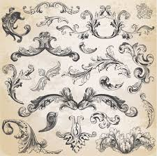 classical ornaments retro styles vector 02 vector ornament free