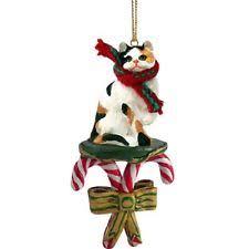 cat ornaments ebay