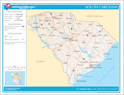 South Carolina County Map South Carolina Maps