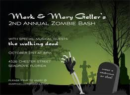 zombie wedding invitation wording yaseen for