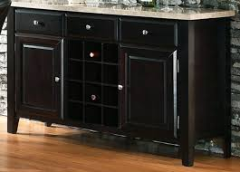 buffet table with wine rack colors u2014 new decoration attractive
