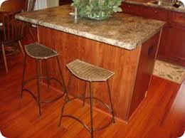 Quarter Round Kitchen Cabinets Board And Batten Kitchen Island From Thrifty Decor