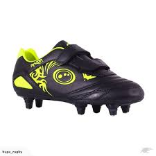 buy rugby boots nz optimum razor velro sg football boots black fluo yellow
