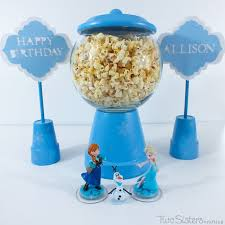 party centerpieces disney frozen party decoration ideas two