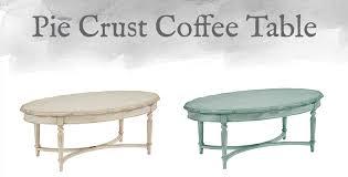 Pie Crust Coffee Table Design By Gahs