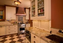 horizontal top kitchen cabinets the 6 most common types of cabinet doors