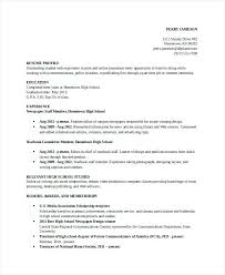 Student Resume Templates Microsoft Word High Job Resume U2013 Okurgezer Co