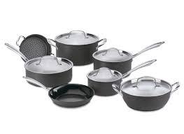 Cuisinart Dishwasher Safe Anodized Cookware Cuisinart Green Gourmet Hard Anodized 12 Pc Gg 12 Kitchen Cookware