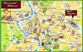 best tourist map of tourist map of florence printable city of florence map with