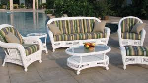white wicker outdoor furniture home and interior zalifalcam white