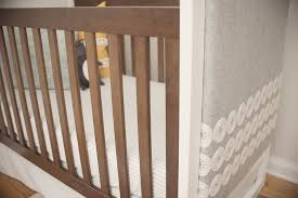 diy upholstered crib project nursery