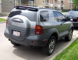 isuzu amigo hardtop isuzu vehicross working as a police vehicle often