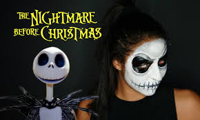 jack skellington the nightmare before christmas makeup tutorial