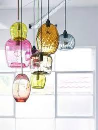 Glass Pendant Lighting Salon Bleu Glass Demijohn Pendant Lighting Love Pinterest