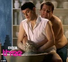 film ghost scene pottery gavin and stacey stars horne and corden recreate famous scene from