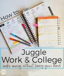 college work juggling work and college dani dearest