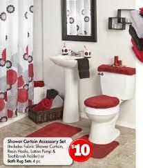 Red Bathroom Accessories Sets by Grey Bathroom Rug Set Descargas Mundiales Com