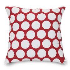 polka dot pillows amazoncom pillow perfect decorative red white