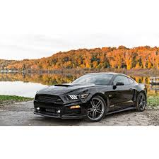 All Black Mustang Roush 421870 Mustang Quarter Panel Side Scoops Unpainted 2015 2017