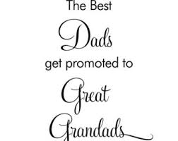 great dads get promoted to grandad etsy studio