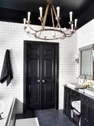 navy blue bathroom decor wall mount faucet unique chandelier