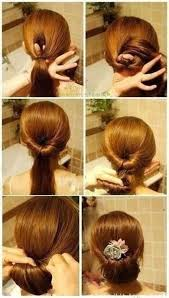hairstyles i can do myself save and get styled a homemade sock bun is an easy updo for
