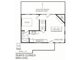 Master Bedroom Ensuite Floor Plans by Bear U0027s Corner 3 Bedrooms Sleeps 10 Wifi Vrbo