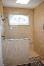 half wall shower glass best 25 half wall shower ideas on pinterest