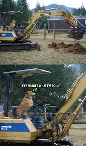 Bulldozer Meme - excavator operator by ben meme center