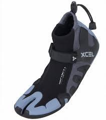 xcel infiniti 1mm split toe reef neoprene bootie at swimoutlet com