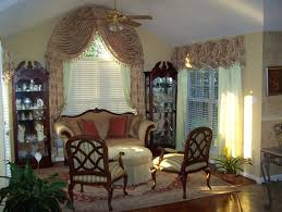 Half Moon Window Curtains Interior Black Floral Patterned Arched Window Valance With Half