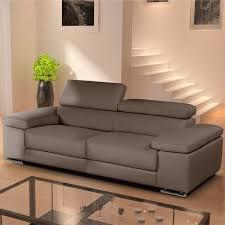 Leather 3 Seater Sofas Nicoletti Lipari Taupe Italian Leather 3 Seater Sofa All Sofas